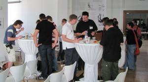 Essen auf dem Barcamp