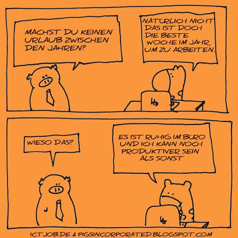 Produktivität von IT Experten