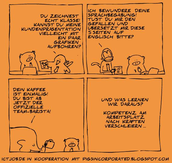 Kompetenzen verschleiern