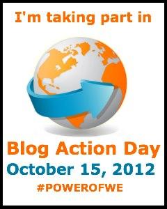 Blog Action Day 2012 - Wir nehmen teil